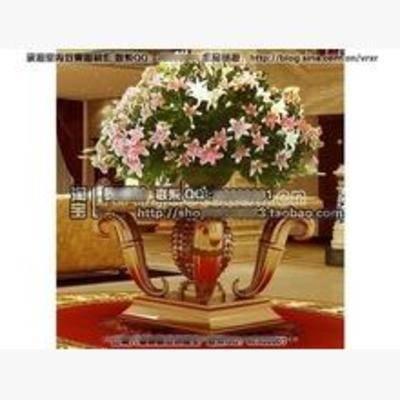 现代, 盆栽, 花瓶