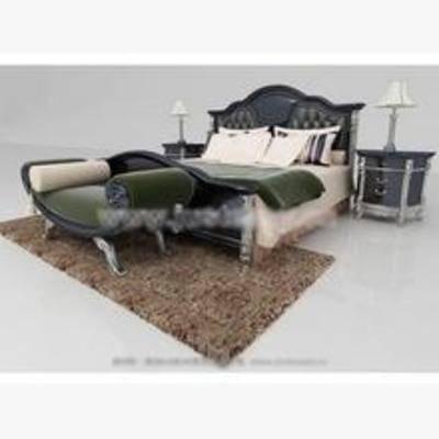 平板床, 欧式床, 床