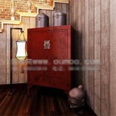 木质柜子, 中式柜子, 柜子