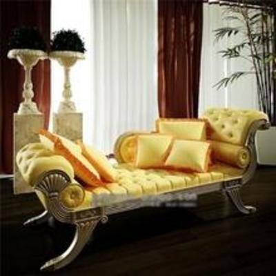 金属贵妃椅, 欧式贵妃椅, 贵妃椅