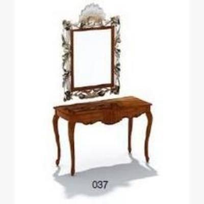 镜子, 梳妆台, 欧式梳妆台, 欧式镜子