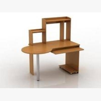 电脑桌, 桌子, 现代桌子, 木质桌子