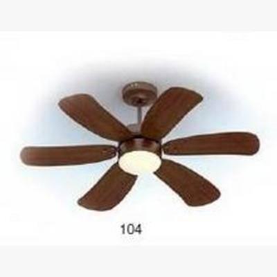 褐色吊扇, 6页吊扇, 6页风扇, 褐色, 风扇, 吊扇