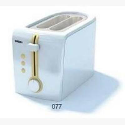 面包机, 现代电器, 厨房电器, 机械
