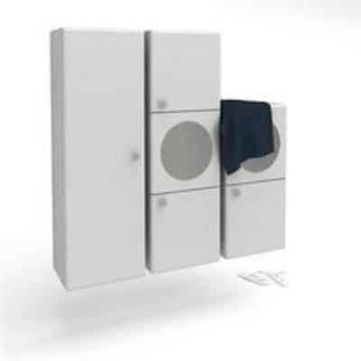 卫浴柜架, 现代
