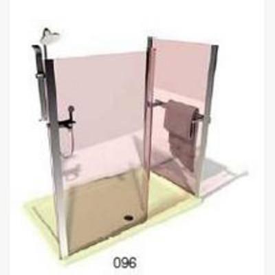 淋浴花洒, 现代, 卫浴