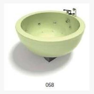 浴缸, 现代, 卫浴