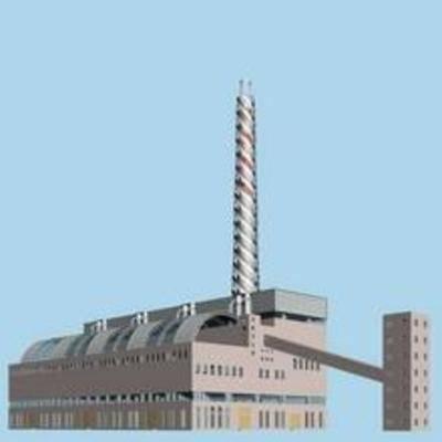 现代, 厂房, 建筑