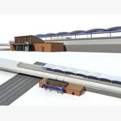 现代, 铁路, 造型