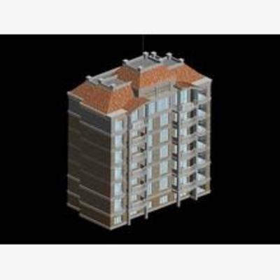 现代, 建筑, 住宅