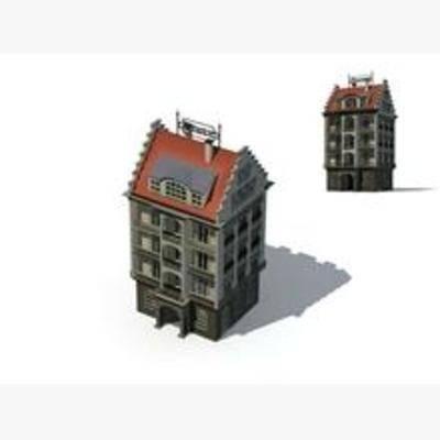 美式, 建筑, 古建