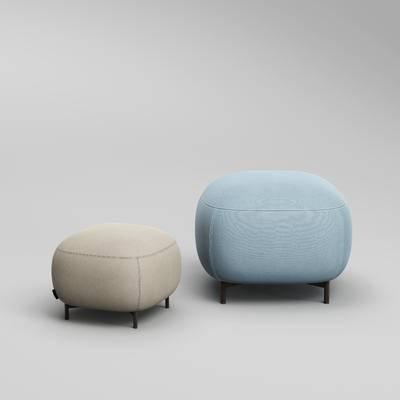 现代沙发凳, 沙发凳, 沙发脚踏, 凳子