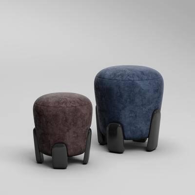 现代沙发凳, 沙发脚踏, 沙发凳, 凳子