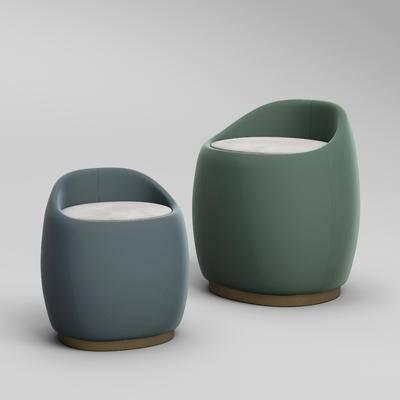 现代沙发凳, 沙发凳, 凳子