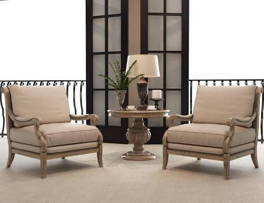 美式, 桌椅组合, 茶几组合