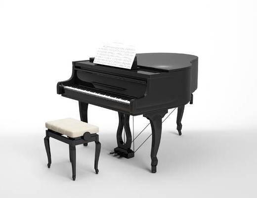 现代, 乐器, 钢琴