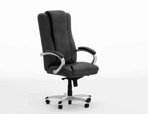 现代, 单椅, 办公椅