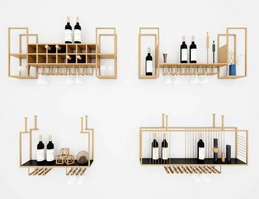 現代, 餐具, 杯架