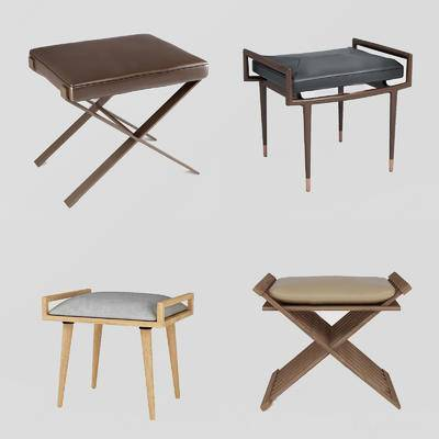沙发脚榻, 单椅, 凳子
