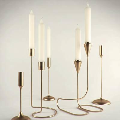 后现代蜡烛灯, 蜡烛灯, 灯具