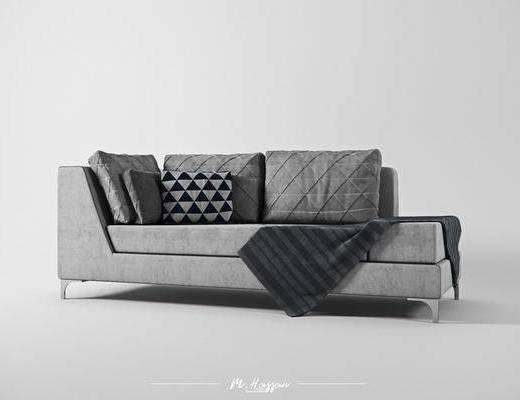 现代贵妃椅, 多人沙发, 沙发