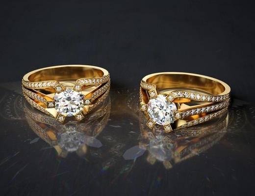 现代戒指, 戒指
