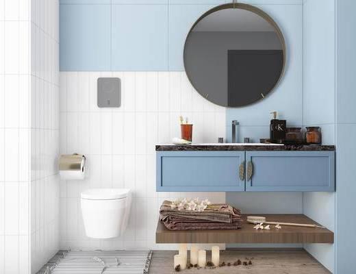 北欧, 卫生间, 浴室