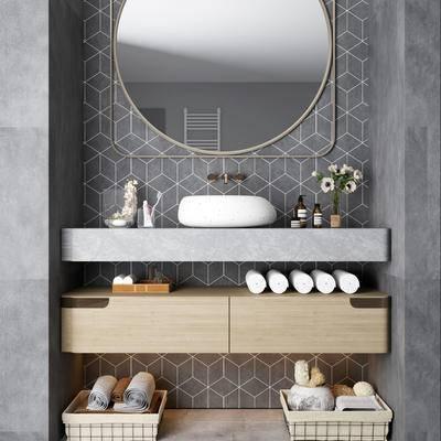 現代, 洗手臺組合