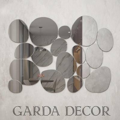 后现代壁镜, 壁镜, 镜子