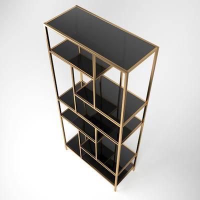 现代置物架, 置物架, 装饰柜架