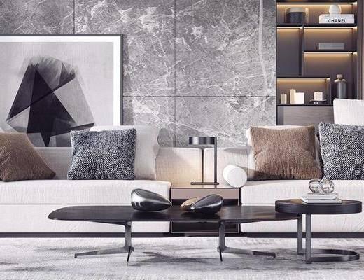 后現代沙發, 客廳, 沙發組合, 后現代客廳