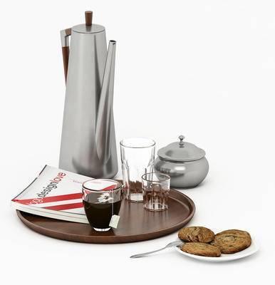现代摆件, 餐具, 杯子
