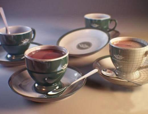 美式杯子, 咖啡杯, 杯子