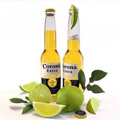 酒瓶, 柠檬, 酒瓶组合