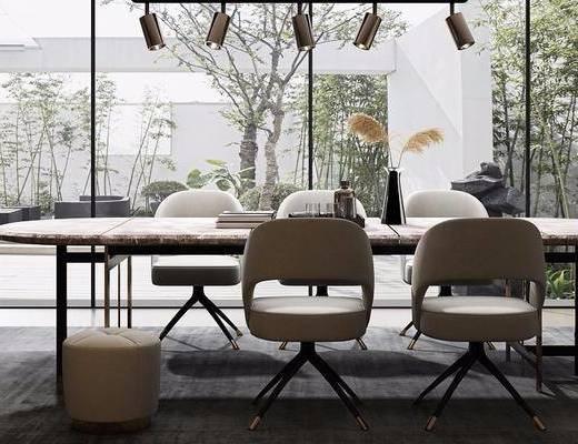 現代餐廳, 餐廳, 餐桌椅