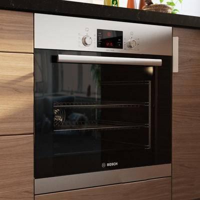 现代微波炉, 微波炉, 烤箱