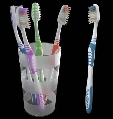 现代牙刷, 牙刷