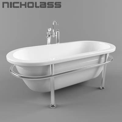 现代浴缸, 浴缸