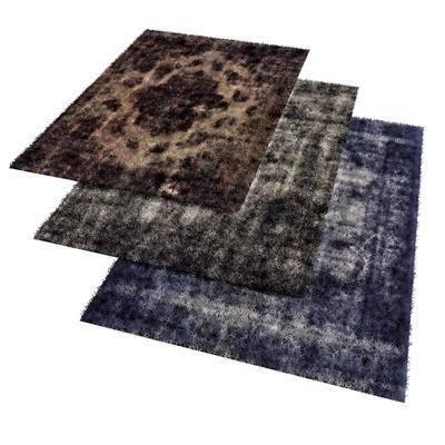 美式地毯, 方形地毯, 地毯