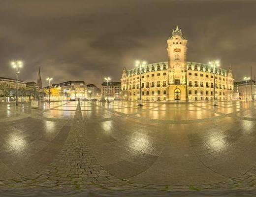 自然光, 夜色, 户外, 阴, 城市