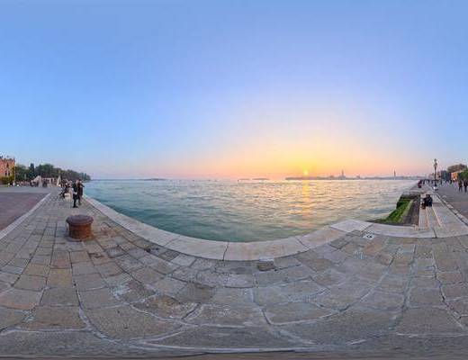 清澈, 自然光, 自然, 户外, 天空, 日出日落, 城市