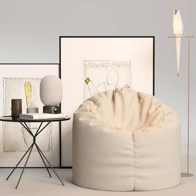 现代单椅, 单椅, 单椅组合, 边几组合, 桌椅组合