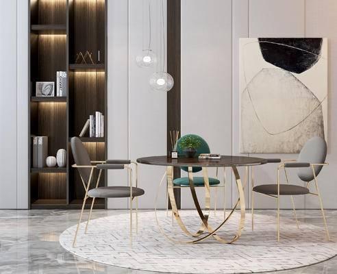 现代餐桌椅组合, 餐桌椅组合, 桌椅组合