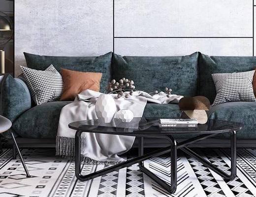 沙发组合, 茶几