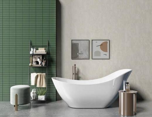 北欧, 卫浴组合, 卫浴摆件组合