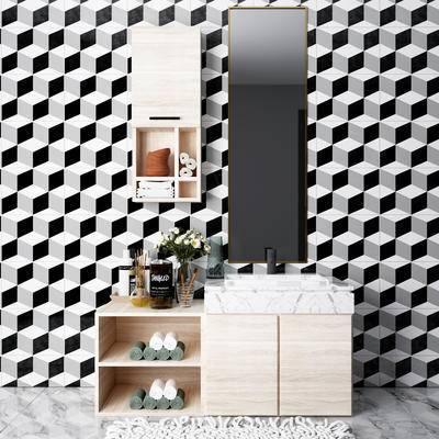 現代, 衛浴組合, 浴柜組合