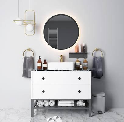 現代, 衛浴組合, 擺件組合