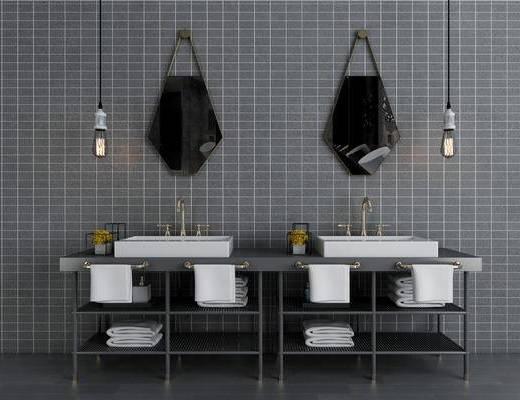 現代, 洗手臺