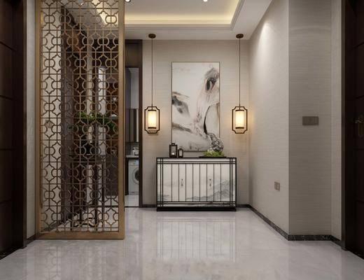 新中式過道走廊, 走廊, 過道