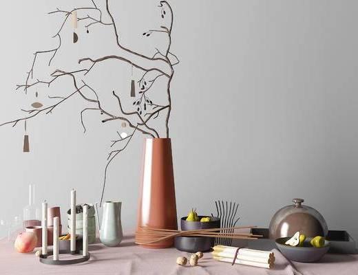 北欧简约彩色餐具组合, 北欧简约餐具组合, 简约餐具组合, 彩色餐具组合, 餐具组合, 餐具